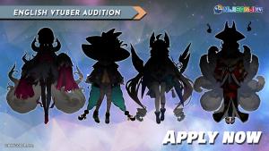 NIJISANJI EN launches two VTuber auditions!